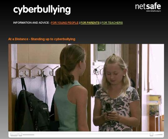 Standing up to cyberbullying